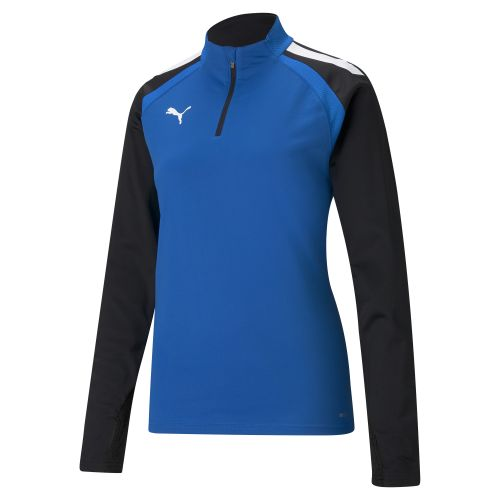 Puma team Liga 1/4 Zip Top Femme - Bleu Royal