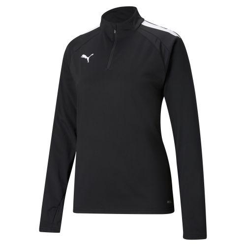Puma team Liga 1/4 Zip Top Femme - Noir