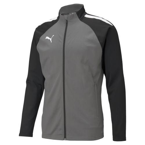 Puma team LIGA Training Jacket - Gris foncé & Noir
