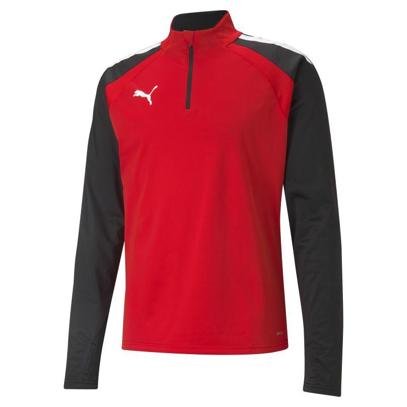 Puma teamLIGA Training 1/4 Zip Top - Rouge & Noir