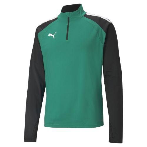 Puma team LIGA Training 1/4 Zip Top - Vert & Noir