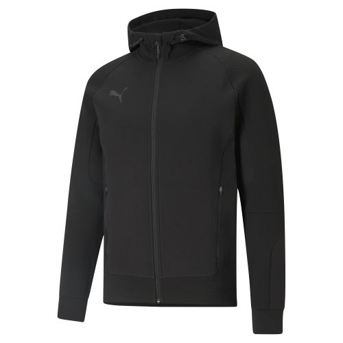 Puma teamCUP Casuals Hooded Jacket  - Noir