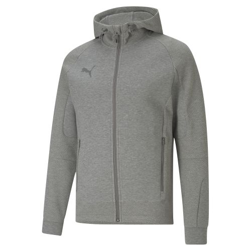 Puma teamCUP Casuals Hooded Jacket  - Gris chiné
