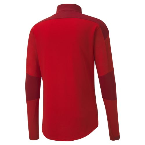Puma teamFIINAL Training 1/4 Zip Top - Rouge