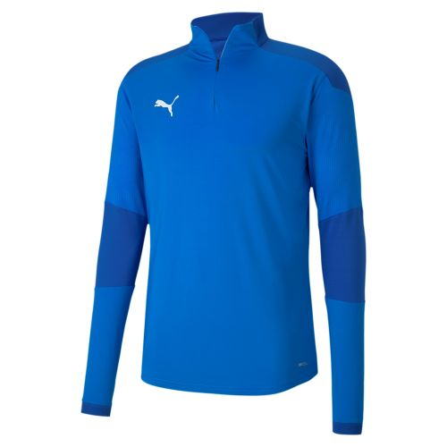 Puma teamFINAL Training 1/4 Zip Top - Bleu Royal
