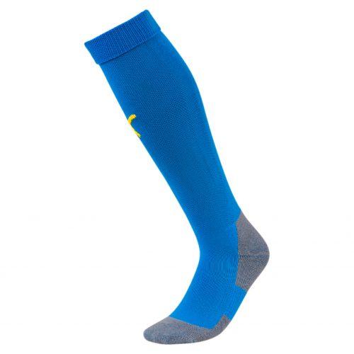 Puma teamLIGA Socks Core - Bleu Royal & Jaune