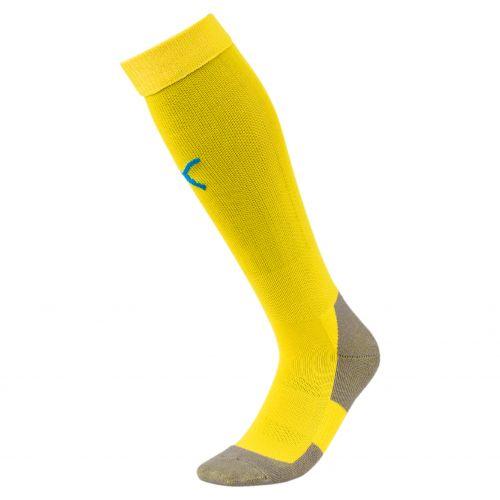 Puma teamLIGA Socks Core - Jaune & Bleu Royal