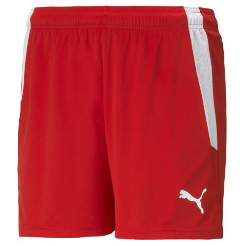 Puma teamLIGA Short - Rouge & Blanc W