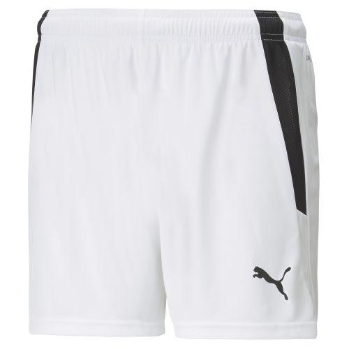 Puma teamLIGA Short - Blanc & Noir W