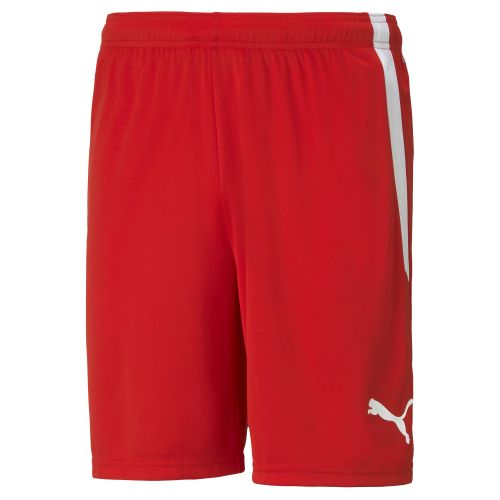 Puma teamLIGA Short - Rouge & Blanc