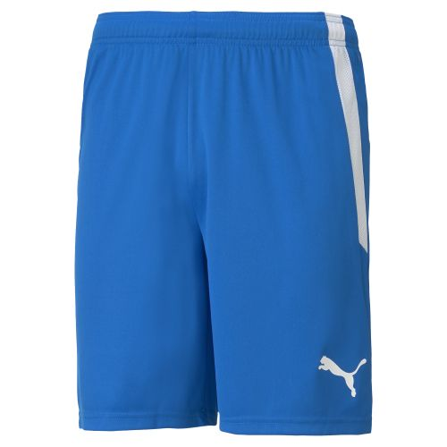 Puma teamLIGA Short - Bleu Royal & Blanc