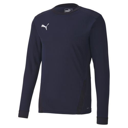 Puma teamGOAL  Jersey LS - Bleu Marine