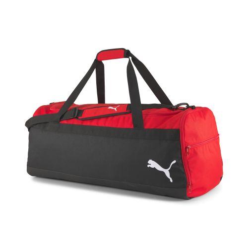 Puma teamGOAL Wheel Teambag L - Noir & Rouge