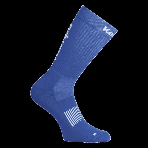 Kempa Logo Classic Socks - Royal & Blanc