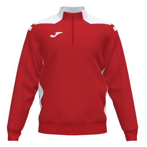Joma Champion VI Sweatshirt - Rouge & Blanc
