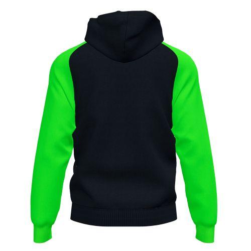 Joma Academy IV Hoodie Jacket - Noir & Vert