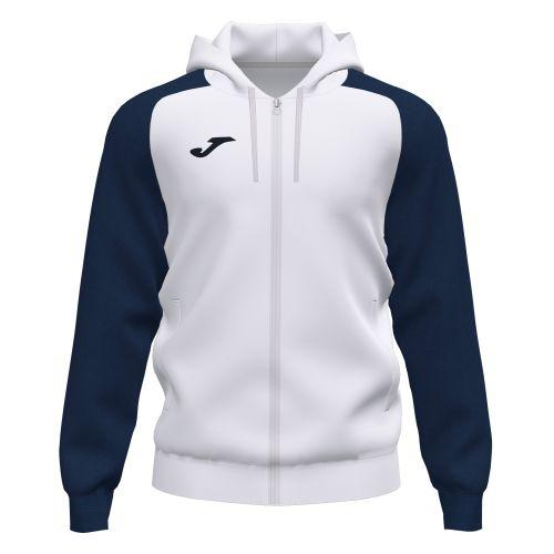 Joma Academy IV Hoodie Jacket - Blanc & Marine