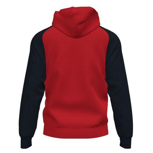 Joma Academy IV Hoodie Jacket - Rouge & Noir