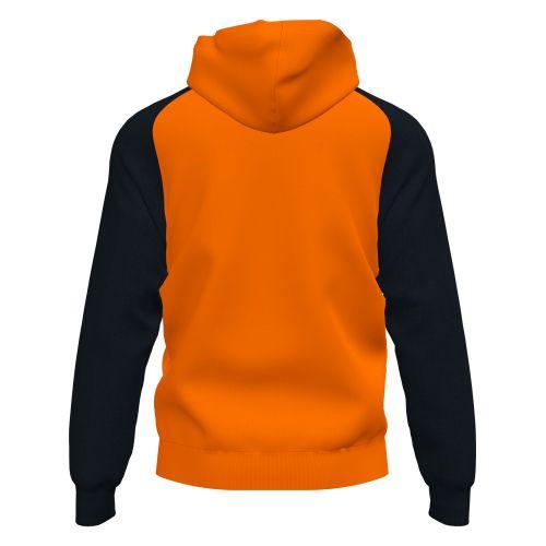 Joma Academy IV Hoodie Jacket - Orange & Noir