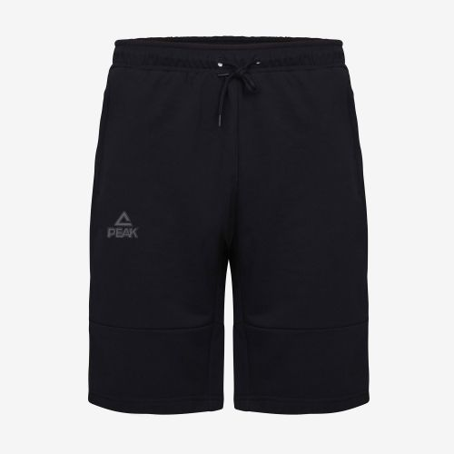 Peak Short Coton Zip Noir