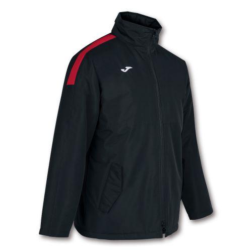 Joma Trivor Jacket - Noir & Rouge