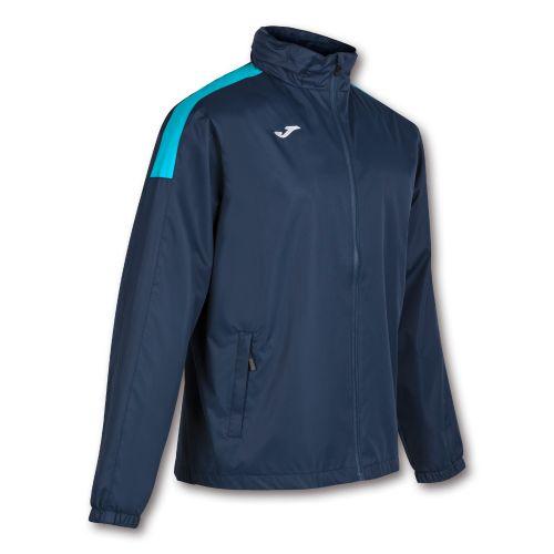 Joma Trivor Rain  Jacket - Marine & Turquoise