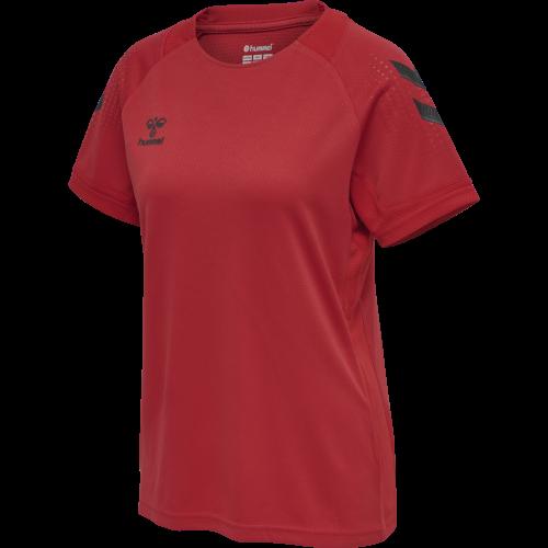 Hummel LEAD Poly Jersey Women - Rouge