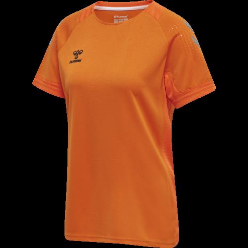 Hummel LEAD Poly Jersey Women - Orange