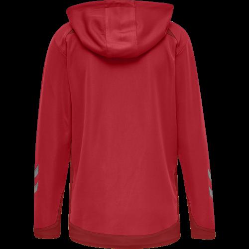Hummel LEAD Poly Hoodie Women - Rouge