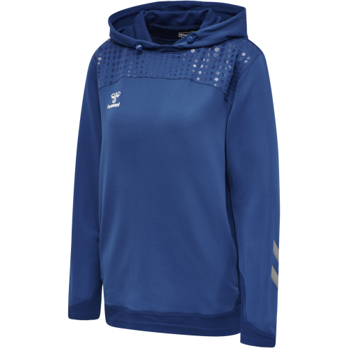 Hummel LEAD Poly Hoodie Women - Royal