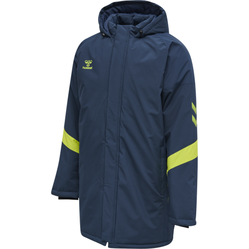 Hummel LEAD Bench Jacket - Marine & Vert