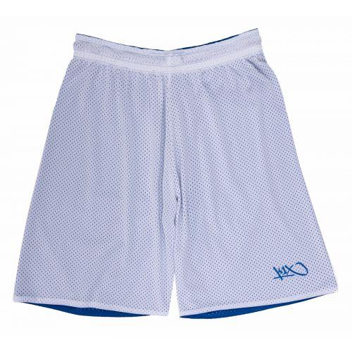 K1x Reversible Practice Short mk2 - Bleu & Blanc