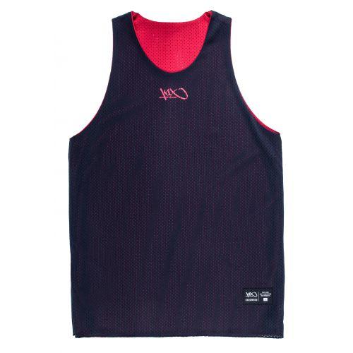 K1x Reversible Practice Jersey mk2 - Noir & Rouge