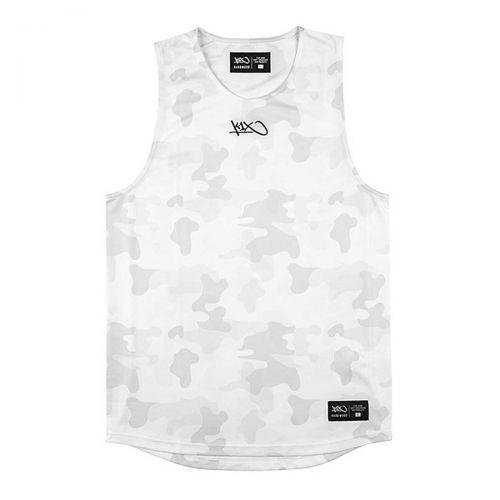 K1x Gravity Jersey Camouflage - Blanc Camo