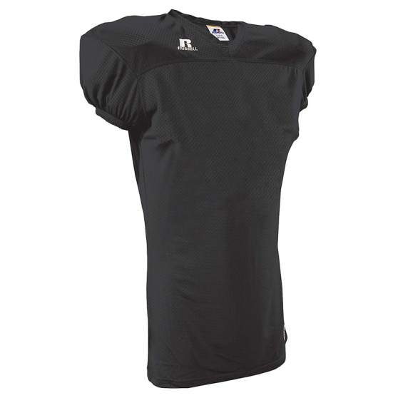 Russell Athletic Solid Mesh Jersey - Noir