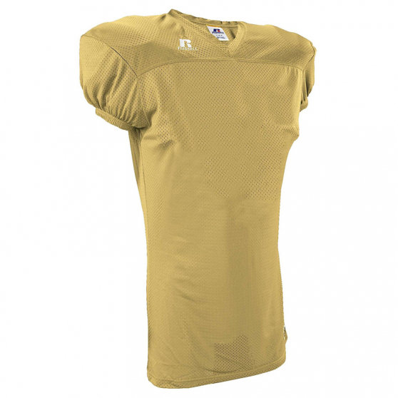 Russell Athletic Solid Mesh Jersey - GT Gold