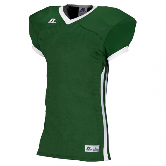Russell Athletic Compression Color Block Jersey - Vert/Blanc