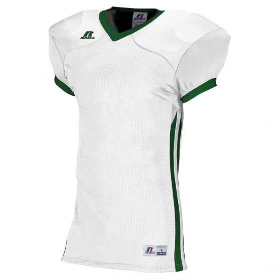 Russell Athletic Compression Color Block Jersey - Blanc/Vert