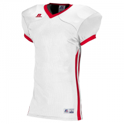 Russell Athletic Compression Color Block Jersey - Blanc/Rouge