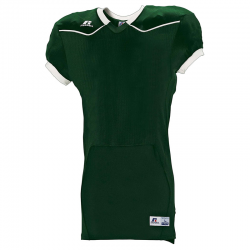Russell Athletic Color Block Home Jersey - Vert