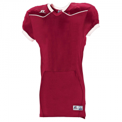 Russell Athletic Color Block Home Jersey - Bordeaux