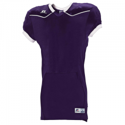 Russell Athletic Color Block Home Jersey - Violet