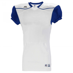 Russell Athletic Color Block Away Jersey - Blanc / Marine