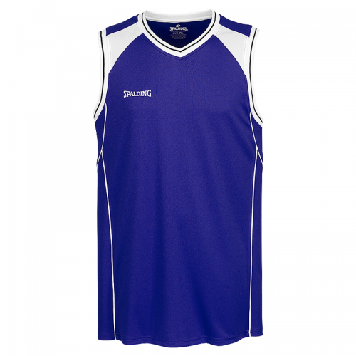 Spalding Crossover Tank Top - Royal / Blanc