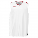 Spalding Attack Tank Top - Blanc & Rouge
