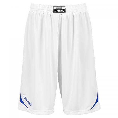 Spalding Attack Shorts - Blanc & Royal