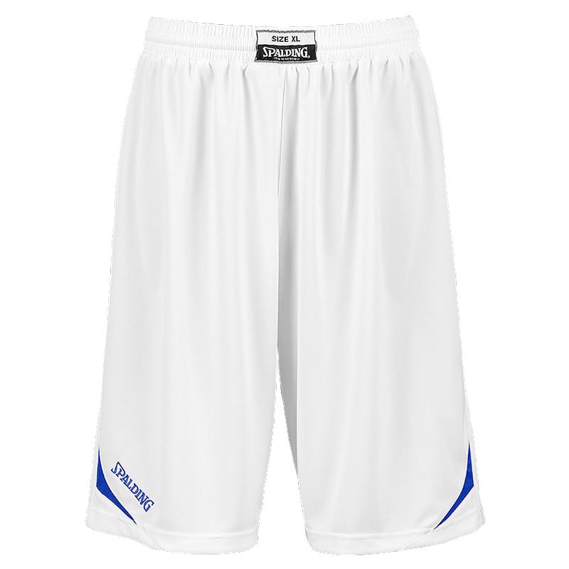 Spalding Attack Shorts - Blanc & Royal