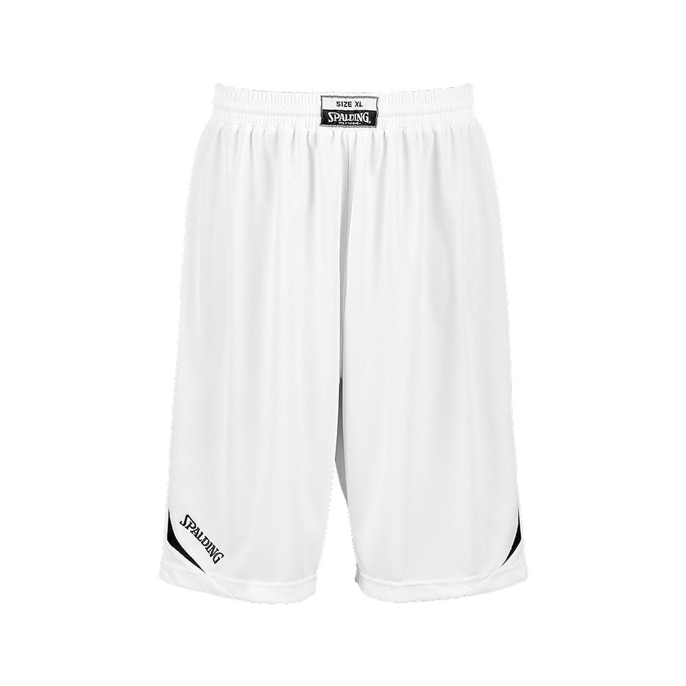 Spalding Attack Shorts - Blanc & Noir