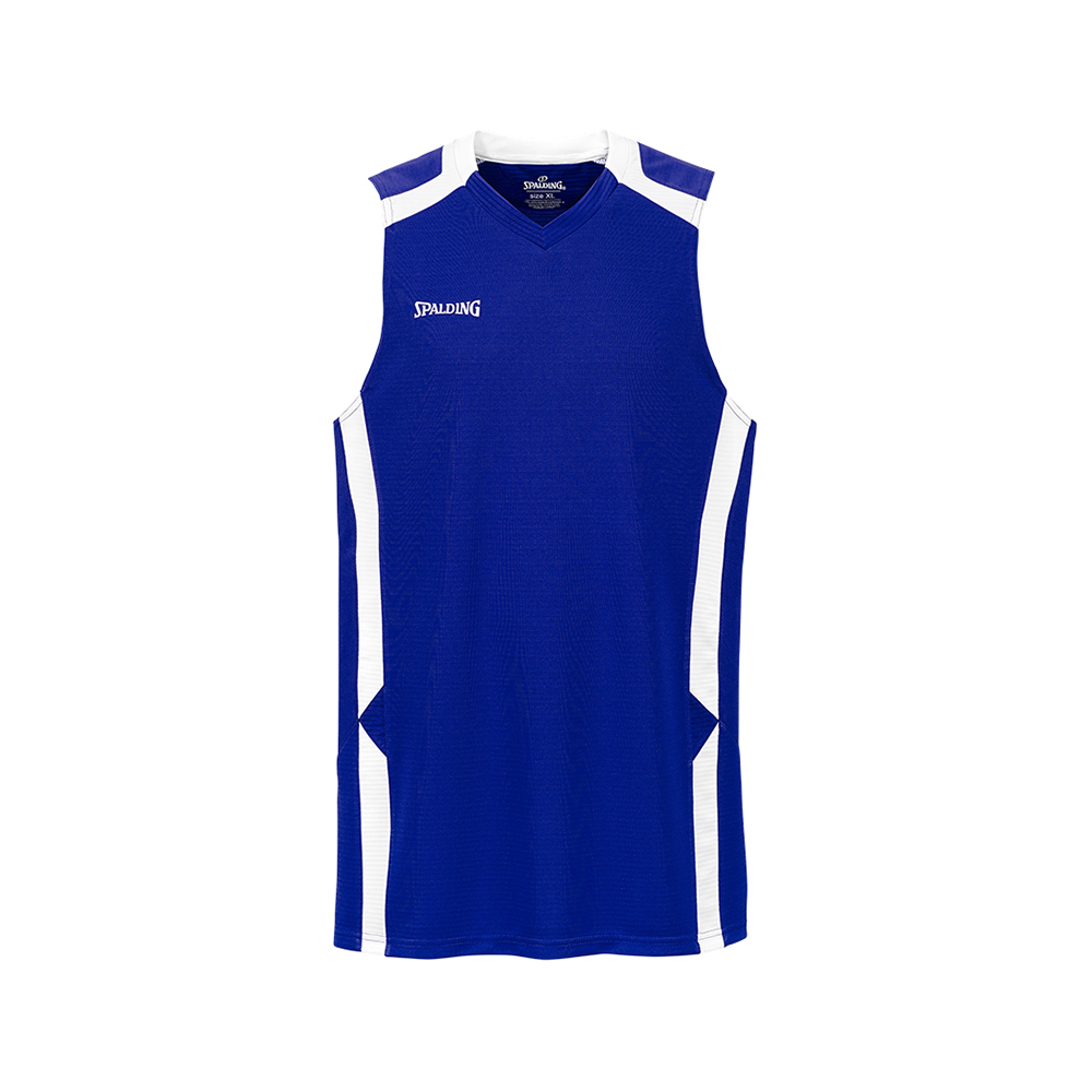 Spalding Offense Tank Top - Royal / Blanc