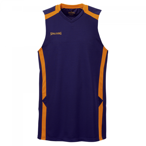 Spalding Offense Tank Top - Marine & Orange
